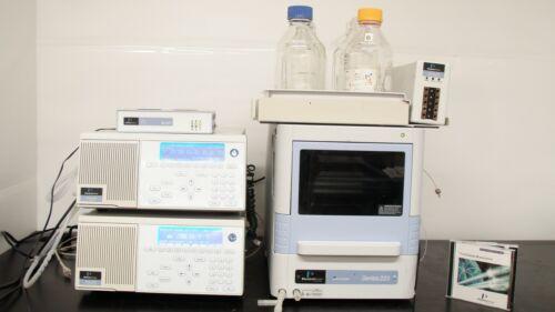 Perkin Elmer  Series 200 HPLC System w/ Autosampler, Pump, Detector, Degasser