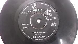 THE-CAVALIERS-garage-funk-jazz-beat-rare-SINGLE-7-45-RPM-INDIA-INDIAN-151-VG