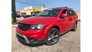 2014 Dodge Journey Crossroad LEATHER TV/DVD