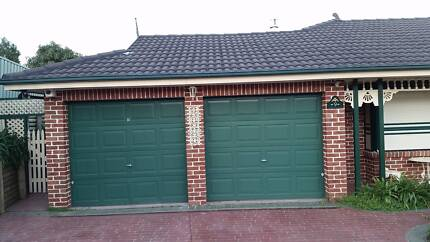 Green B & D Garage Doors x 2 with hand & wall remotes plus keys Baulkham Hills The Hills District Preview