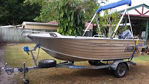 4.2 seajay boat with yamaha 40hp Tewantin Noosa Area Preview