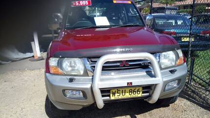 2000 Mitsubishi Pajero SUV Long Jetty Wyong Area Preview