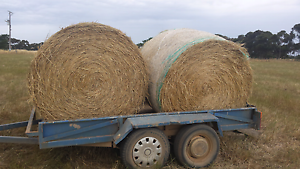 Hay bales big rounds Melton Melton Area Preview
