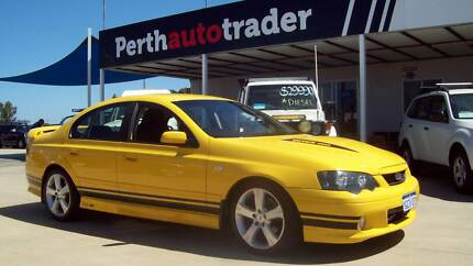 2005 FORD FALCON BA MKII  XR8 MANUAL SEDAN Kenwick Gosnells Area Preview