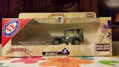 Jeep in Livery of Royal Air Force Airfield Follow Me Guide Car 4595/021:43-NIB