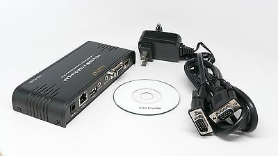 ViewHD PC to HDMI / VGA Over LAN / Ethernet PC to HDTV Support 100M Range NEW Over Lan Support