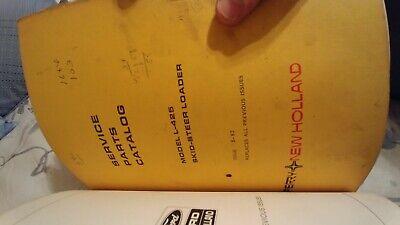 New Holland L451 L452 L465 Lx465 Lx485 Skid Steer Parts Catalog Manual L35 L425