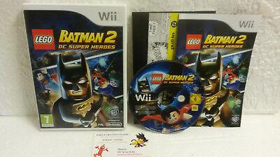 Jeu Vidéo Lego Batman 2 DC Super Heroes VF Wii U Complet Warner TT Games D.C.
