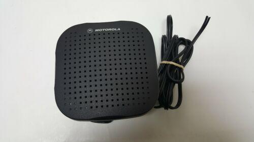 Motorola HSN4038A  Remote External Radio CDM Speaker Used