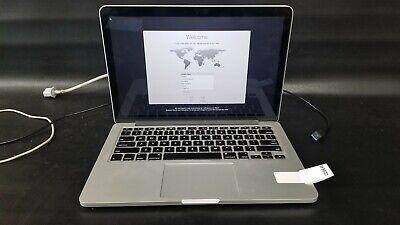 """Apple MacBook Pro MD212LL/A Core i5 2.5 13"""" 8GB Retina 240GB SSD"""
