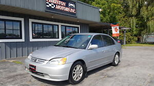 2002 Honda CIVIC LX ?NLY 148K! SAFETIED ETESTED  $2499+taxes