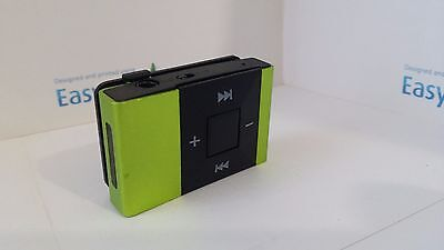 Mini  square metal MP3 player with accessories,fantastic sound- GREEN