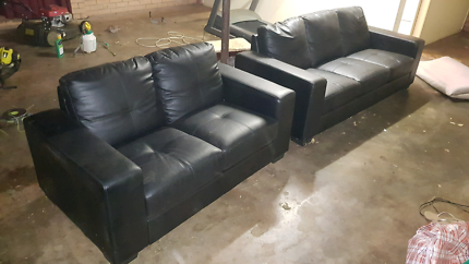 Couches - faux leather