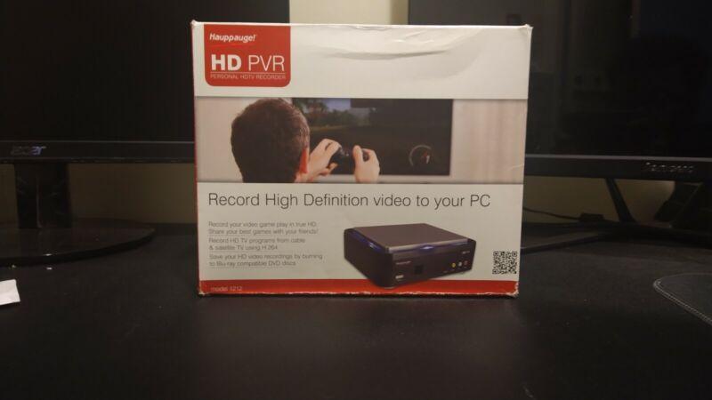 Hauppauge HD PVR 1212 HD DVR HDTV RECORDER