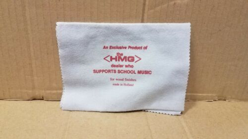 HMG Branded Music Promo Swag Polish cloth for wood finishes