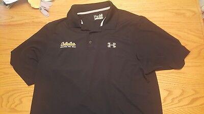 - Under Armour Cabela's Facilities Pro Team Black Shirt    Size Large