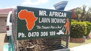 Mr. AFRICAN LAWN MOWING - Browns Plains Browns Plains Logan Area Preview