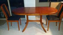 Dining Table - Extendible Setting with chairs St Albans Park Geelong City Preview