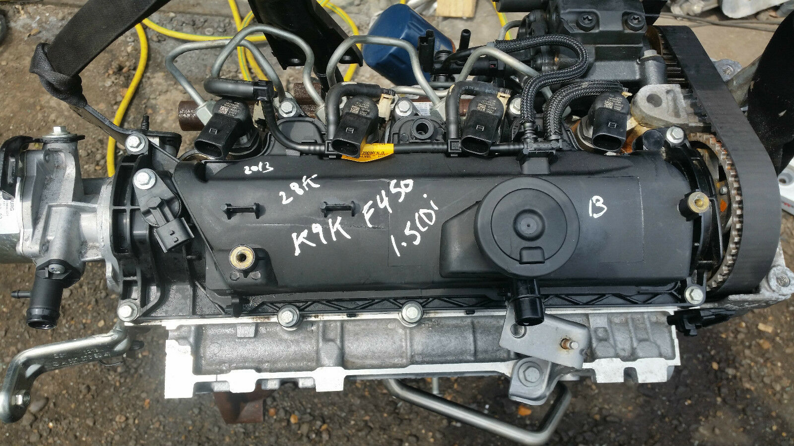 Mercedes benz w176 a180 b180 cdi 1 5 diesel engine 2011 for Mercedes benz diesel engines