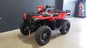 2018 Polaris Industries Sportsman® 850 - Indy Red