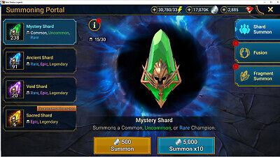 Raid Shadow Legends Starter Account - Lucky Lottery Starter Account!!!!!!!!!!!!