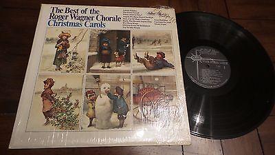 Christmas Carols LP Best of Roger Wagner Chorale  Capitol Star Line