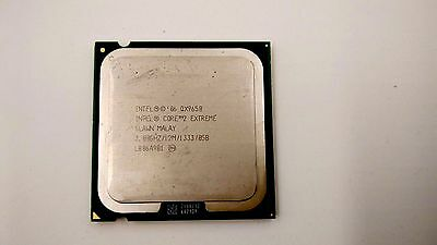 Intel Core 2 Extreme Quad Core QX9650 3.00GHz 12MB 1333MHz SLAN3 SLAWN Processor segunda mano  Embacar hacia Spain