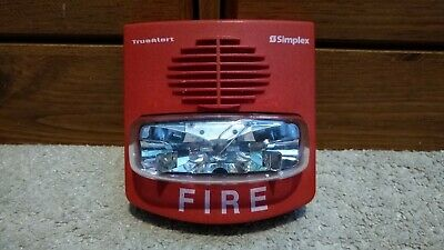 Simplex 4903-9419 Truealert Smartsync Fire Alarm Hornstrobe