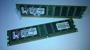 RAM Kingston 2GB [2 x 1GB] DDR400 Magill Campbelltown Area Preview