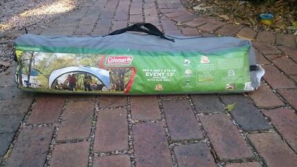 Coleman Event 12 dome shelter with sunwall
