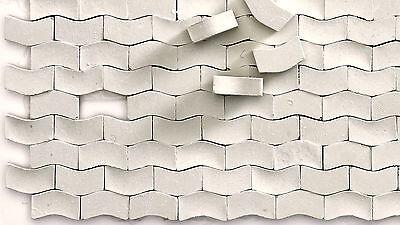 5.000 Keramik Pflastersteine Typ W hellgrau 1:87 Juweela