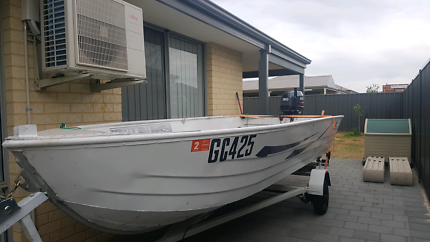 4.3m dinghy with 2014 30hp yamaha
