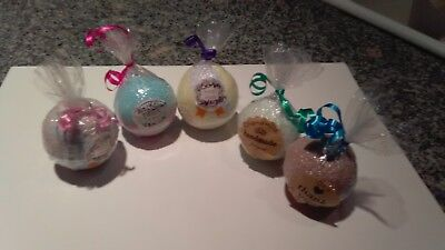 5 BATH BOMBS BALLS - SEX ON THE BEACH, LEMON LAVENDER, TWILIGHT WOODS, BLACK CU - Balls On The Beach