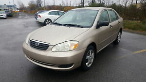 2007 Toyota Corolla CE***BAS MILAGE**DEMARREUR A DISTANCE