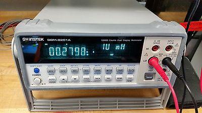 GW Instek 120,000 Counts Dual Display Multimeter GDM-8251A