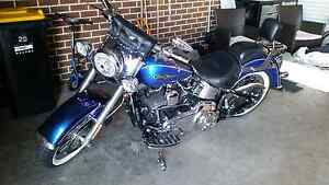 Harley davidson softail deluxe 08 (NEG) Taylors Hill Melton Area Preview