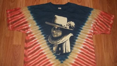 Awesome 1975 Desire era style BOB DYLAN Tie Dye T-Shirt Large mens womens