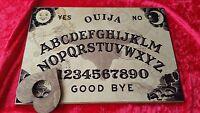 Wooden Ouija Board Magic Stained Skull & Planchette Instructions Ghost Esp - uyd - ebay.co.uk