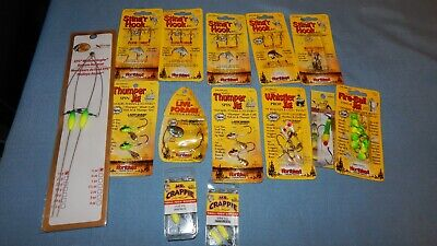 T/&A Jigs Crazy Wacky Goofy Pompano Jigs 1//8 oz 25 jigs Mixed Colors lot of 25