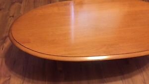 Solid maple tables