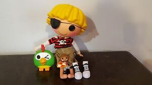 LaLaLoopsy Patch TreasureChest Pirate + mini doll Battery Hill Caloundra Area Preview