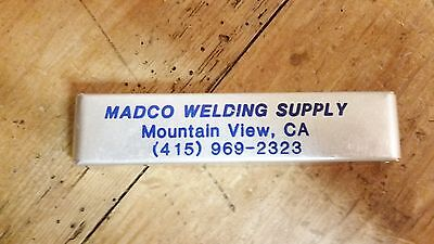Madco Welding Supply Mountain Veiw Ca. Cleaner Drills Advertisement 12 Sizes