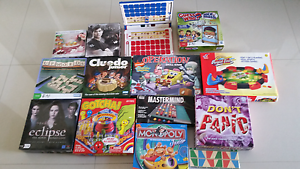 Box of assorted games and puzzles Yanchep Wanneroo Area Preview