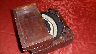 Antique D-c Volt Meter General Electric 566356 D.d. 1908