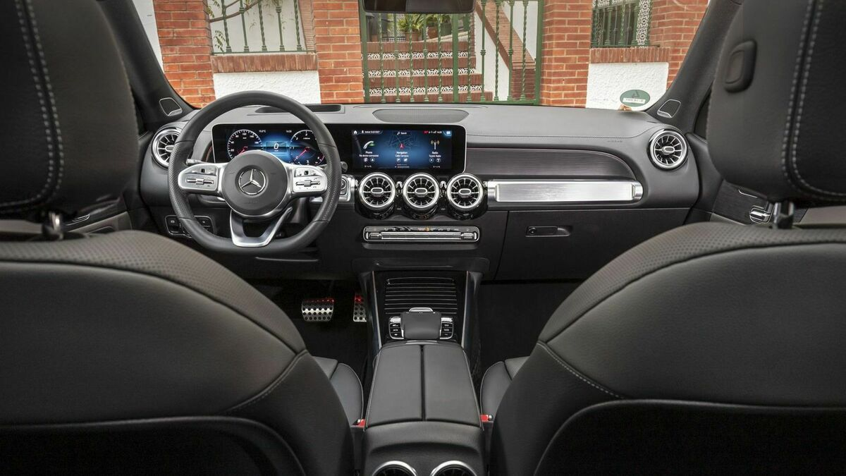 Mercedes GLB Cockpit