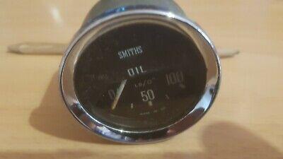Smiths 52mm oil pressure gauge