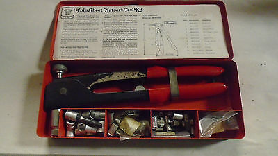 Machinist Tool Lathe Mill Machinist Thin Sheet Nutset Tool Kit In Case