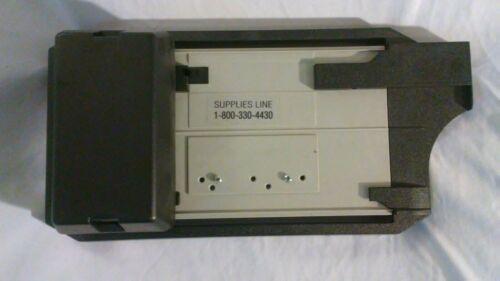 Addressograph Bartizan Model 4850 Manual Credit Card Imprint Machine Flatbed