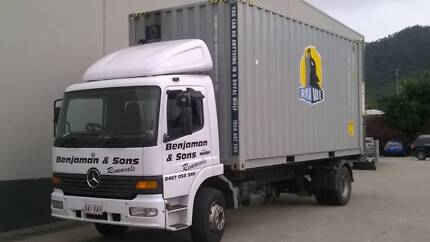 Benjaman & Sons  Removals Cairns City Preview