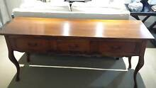 French Provincial timber console Mosman Mosman Area Preview